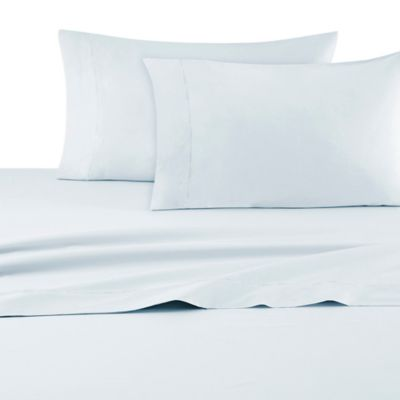 DKNY Classic Percale King Pillowcases in Blue (Set of 2)