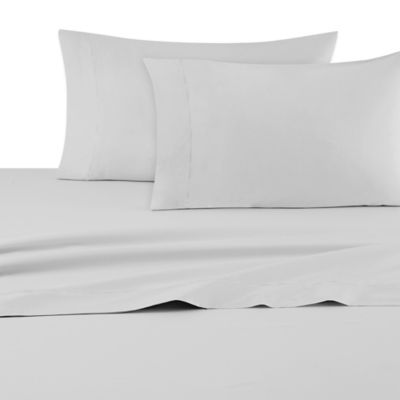 DKNY Classic Percale King Pillowcases in Grey (Set of 2)