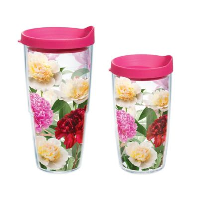 Tervis® Peonies From Heaven 16 oz. Wrap Tumbler with Lid