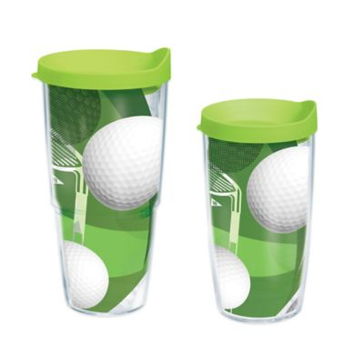 Tervis® Golf Balls 24 oz. Wrap Water Bottle with Lid