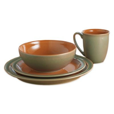 Sage Paprika Dinnerware Set