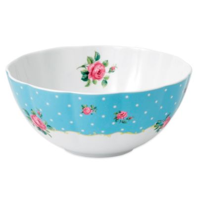 Royal Albert New Country Roses Baking Bliss 2 qt. Mixing Bowl