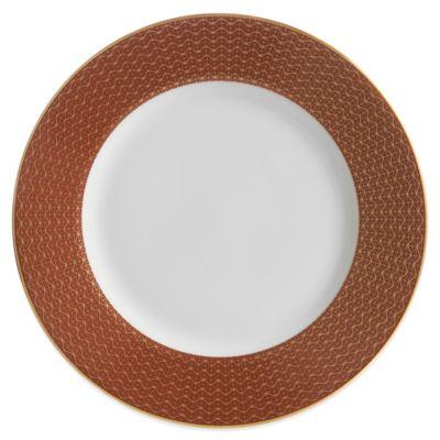 Waterford® Lismore Diamond Cinnabar Salad Plate