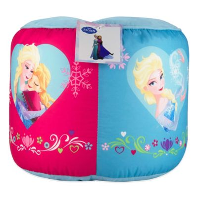 "Disney® ""Frozen"" Perfect Day Printed Round Pouf Ottoman"