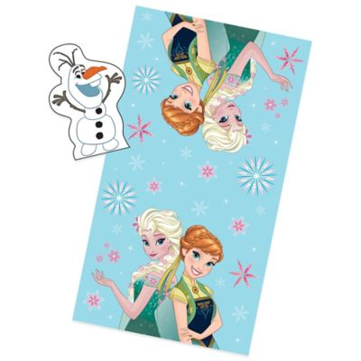 "Disney® ""Frozen"" Perfect Day 2-Piece Fiber Reactive Bath Towel with Wash Mitt Set"