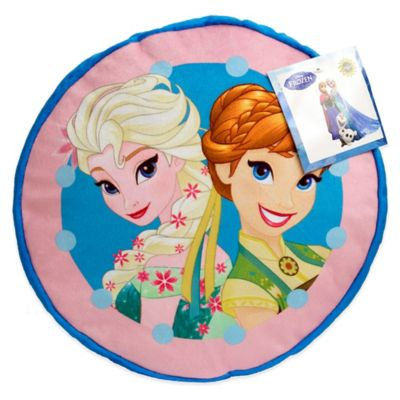 "Disney® ""Frozen"" Perfect Day Round Decorative Throw Pillow"