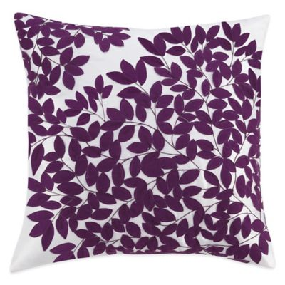 Kas® Winchester Square Throw Pillow in Purple