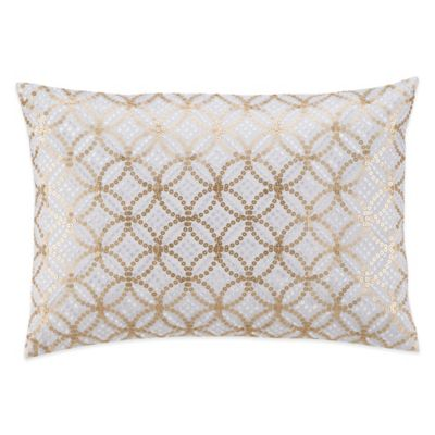 Kas® Winchester Oblong Throw Pillow in White