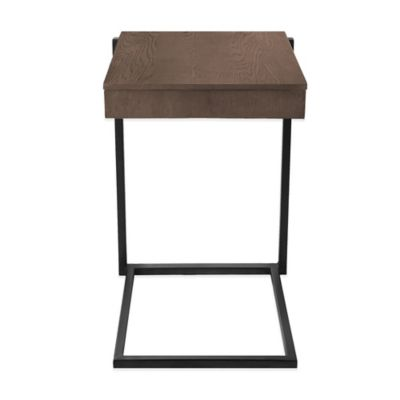 Kenneth Cole Reaction Home® C Table with Drawer in Light Brown