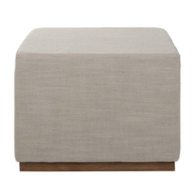 Kenneth Cole Reaction Home® Small Linen Ottoman