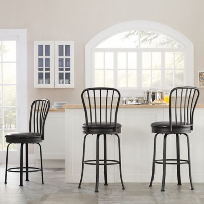 Windsor Style Barstool (Set of 3)