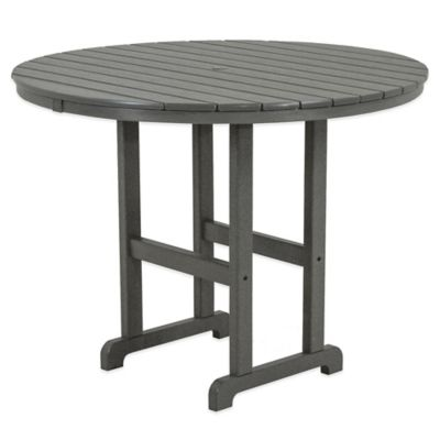 Polywood® La Casa Counter Height Dining Table in Slate Grey