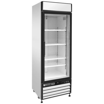 Maxx Cold X-Series Glass Door Refrigerated Merchandiser