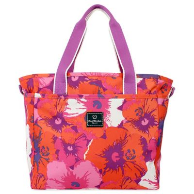French West Indies Small Tote in Purple Floral