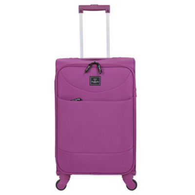 French West Indies 20-Inch Carry-On Spinner in Purple Drift