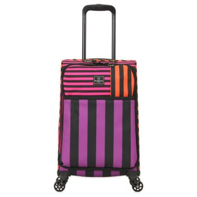 French West Indies 20-Inch Carry-On Spinner in Bahia Purple Drift