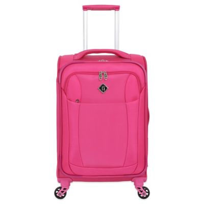 French West Indies 20-Inch Lightweight Carry-On Spinner in Fuchsia