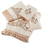 Avanti Monaco Bath Towels in Ivory