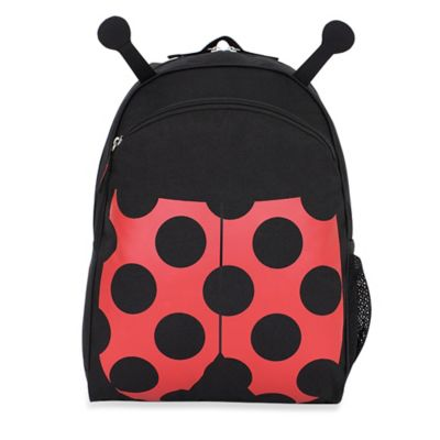 Black Red Backpack