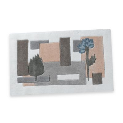 Spa Leaf Bath Rug by Croscill
