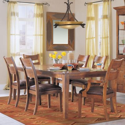 Klaussner Urban Craftsman 7-Piece Dining Table Set