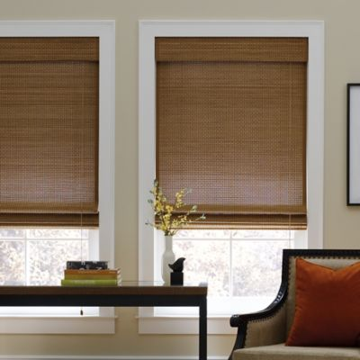 Real Simple® Natural Roman 49-Inch x 72-Inch Shade in Chocolate