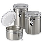 Brushed Stainless Steel Canister