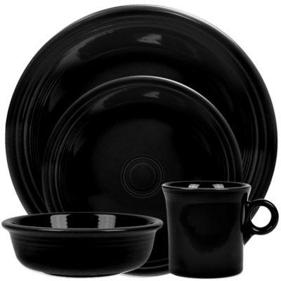 Fiesta® 4-Piece Place Setting in Black