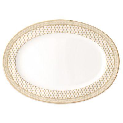 Nikko Granada Gold Oval Platter