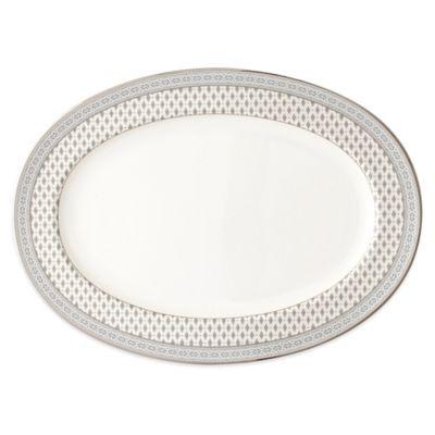 Nikko Granada Platinum Oval Platter