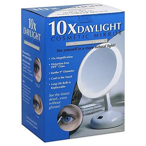 Daylight 10x Cosmetic Mirror Bed Bath Amp Beyond