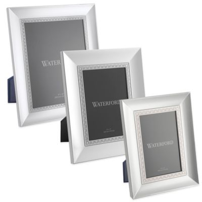 Waterford® Lismore Lace 4-Inch x 6-Inch Frame in Silver