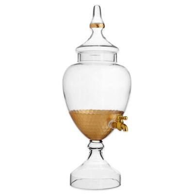 Fitz and Floyd® Daphne Beverage Server in Gold