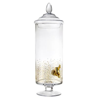 Fitz and Floyd® Luster Beverage Dispenser in Gold