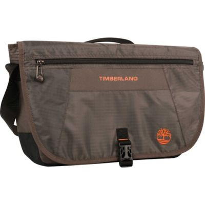 Timberland® Twin Mountain Messenger Bag in Cocoa/Burnt Orange