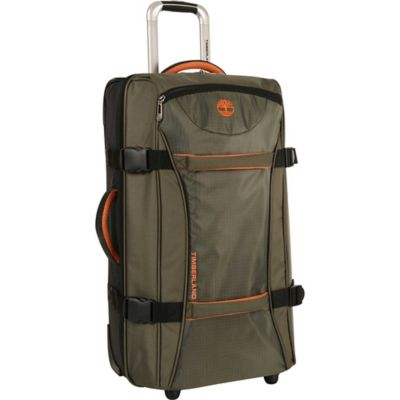 Timberland® Twin Mountain 26-Inch Wheeled Duffle in Burnt Olive/Burnt Orange