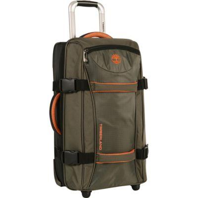 Timberland® Twin Mountain 30-Inch Wheeled Duffle in Burnt Olive/Burnt Orange