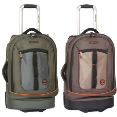 Timberland® Jay Peak 21-Inch Rolling Suitcase in Burnt Olive
