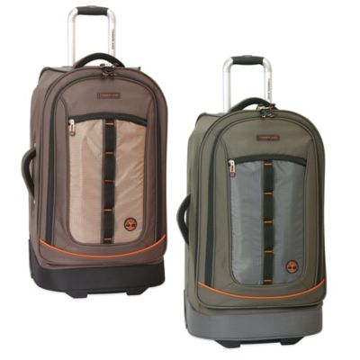 Timberland® Jay Peak 26-Inch Rolling Suitcase in Cocoa