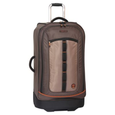 Timberland® Jay Peak 30-Inch Rolling Suitcase in Cocoa