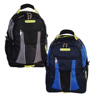 Swiss Cargo SCX22 19-Inch Backpack in Blue