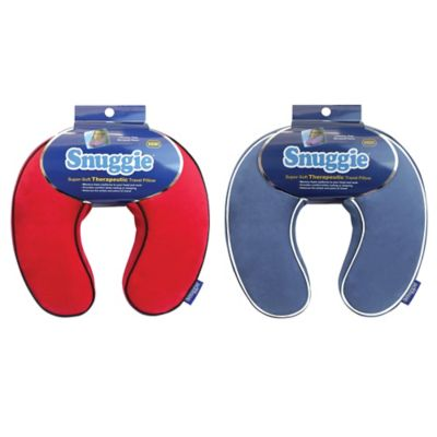 Snuggie Therapeutic Travel Pillow in Red