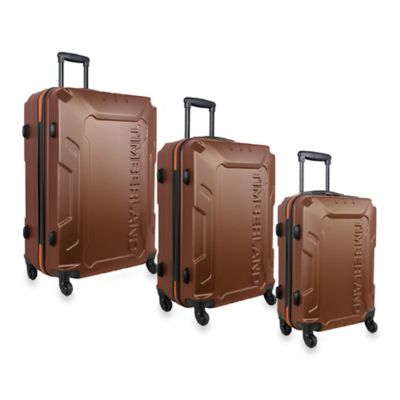 Timberland® Boscawen 3-Piece Hardside Spinner Luggage Set in Olive