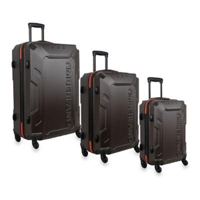 Timberland® Boscawen 3-Piece Hardside Spinner Luggage Set in Bronze