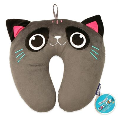 Snuggie Critter Travel Cat Pillow