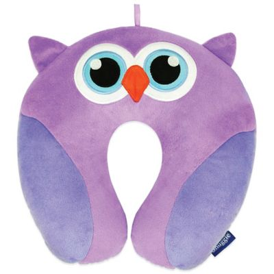 Snuggie Critter Travel Owl Pillow