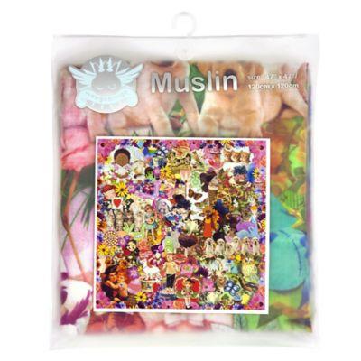 Weegoamigo Sugar & Spice Digital Print Premium Muslin Swaddle