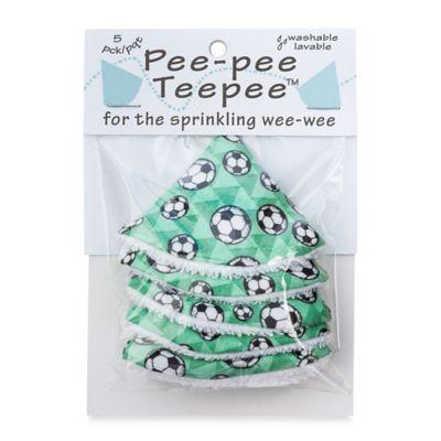 beba bean 5-Pack Pee-Pee Teepee™ in Soccer