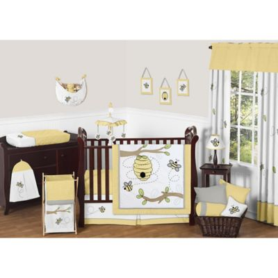 Sweet Jojo Designs Honey Bee 11-Piece Crib Bedding Set