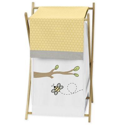 Yellow Bee Baby Bedding